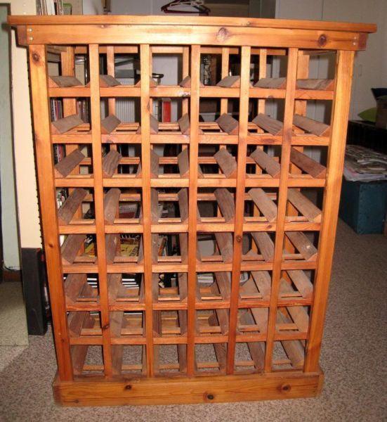 wine rack furniture lovely vintage oregon pine wine rack