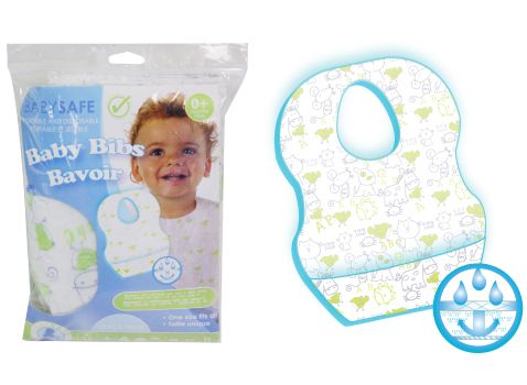10pk Portable and Disposable Bibs