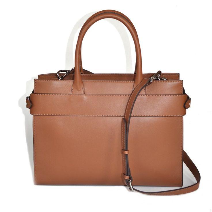 Decadent- 532 Handbag W/ Belt And Srap Cognac