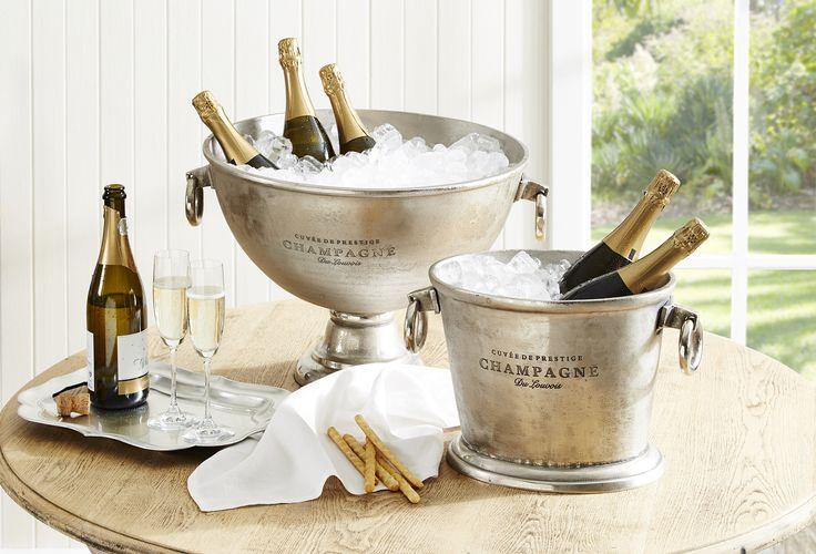 CHAMPAGNE BUCKETS Morgan & Finch | Bed Bath N' Table