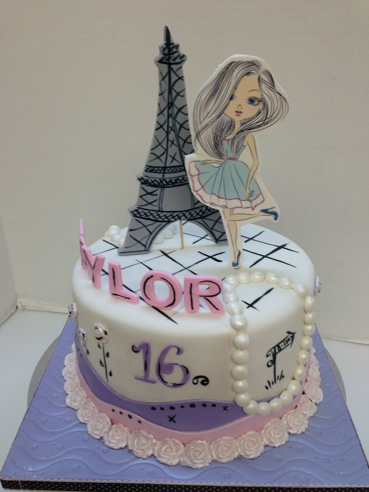 Paris cake at CakeSuppliesDepot.c