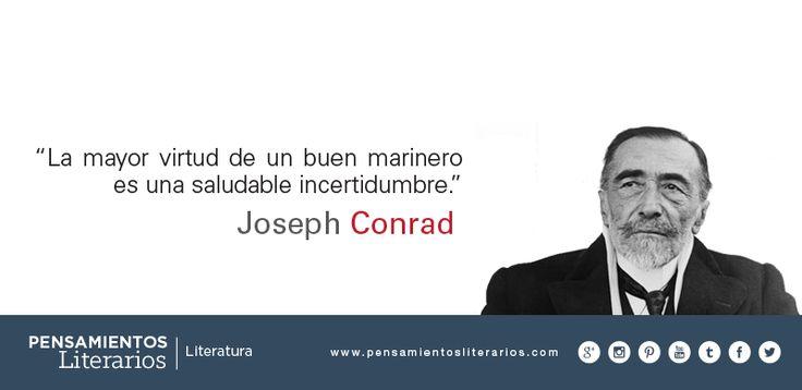 Joseph Conrad. Sobre la incertidumbre.