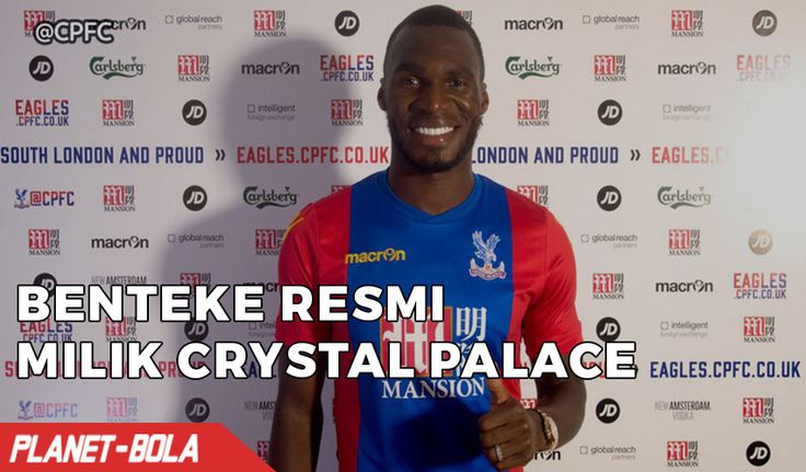 RESMI : Benteke Berlabuh Ke Crystal Palace