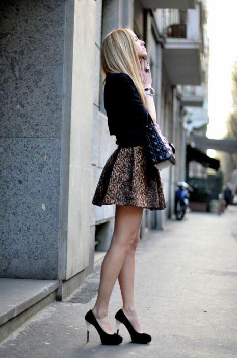 Leopard Streetstyle.