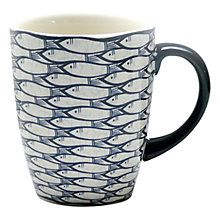 Buy Jersey Pottery Sardine Run Mug Online at johnlewis.com