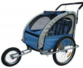 Cette remorque est très solide, extrêmement sûre et certifiée CE qui convient pour 1 ou 2 enfants. Système de fixation ultra sécure sur l'axe de la roue arrière (contrairement au système avec pince, ce système ne glisse pas et n'abîmera pas le cadre de votre vélo). Double frein à main pour se garer en toute sécurité en fonction poussette. Armature en acier, très stable avec barre de sûreté anti-renversement.
