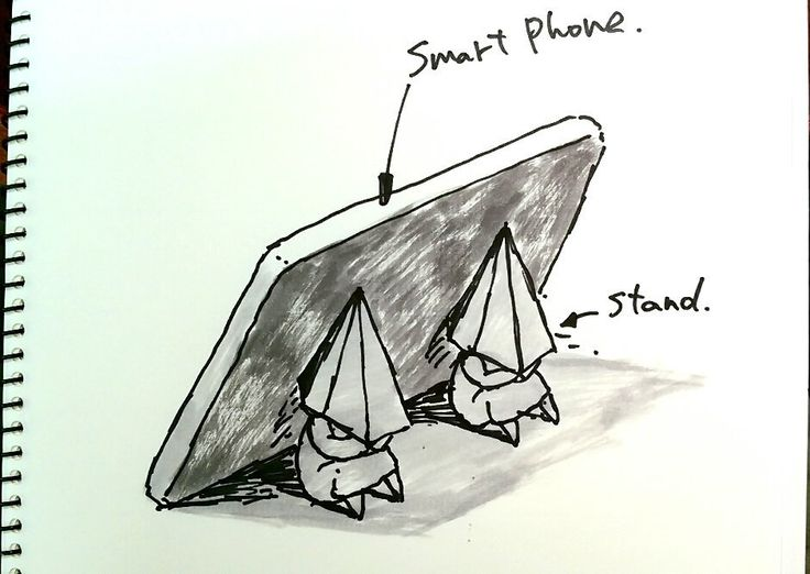 Phone stand in PH way.