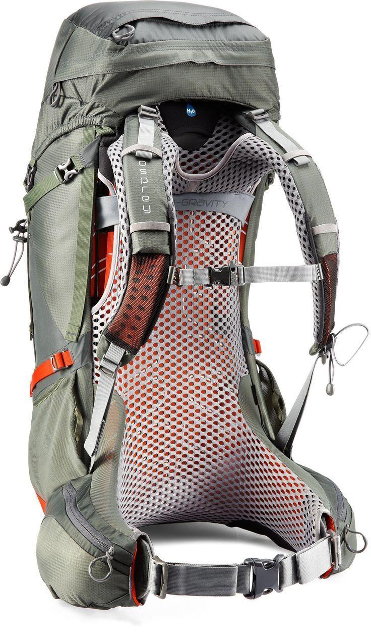 Osprey Men S Atmos Ag 65 Backpack In 2020 Osprey Atmos Hiking Gear Camping Gear