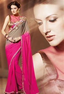 Lovely saree form jomso.com