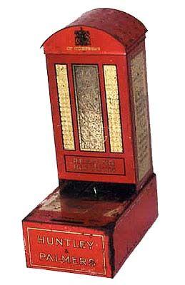 British Biscuit Tins - 1923 H&P