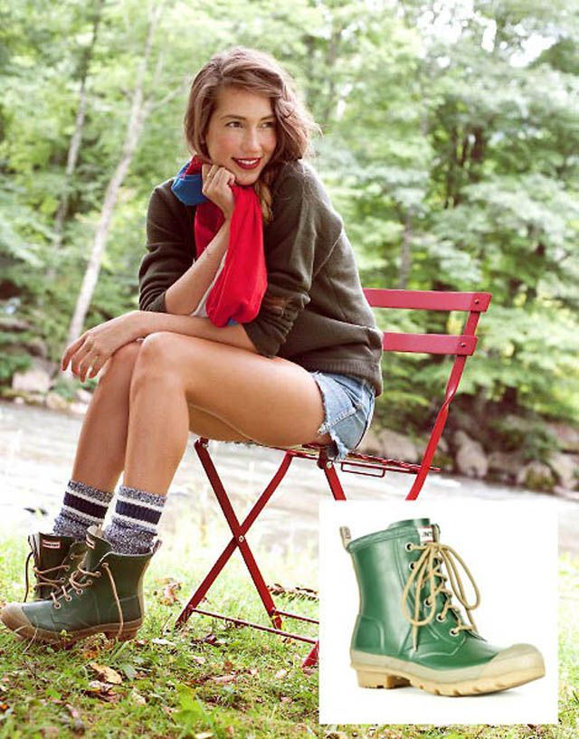 4eed77405c1 waterproof- Girls Outfits with Hiking Boots-26 Ways to Wear Hiking Boots