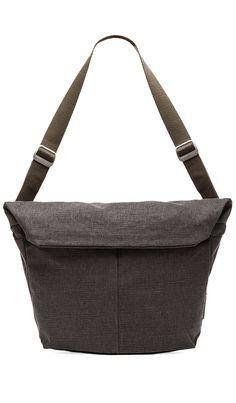 Cool shape on this messenger bag