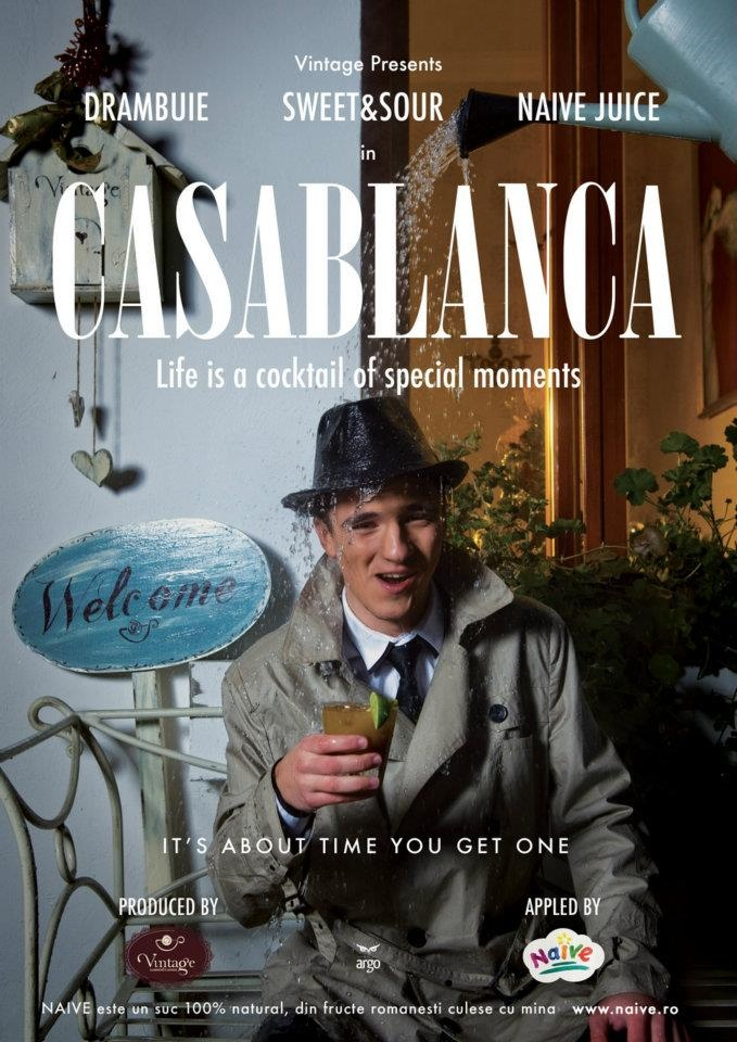Casablanca.  Life is a cocktail of special moments.