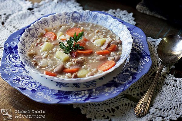 Authentic Recipe: Bean n' Barley Soup | Ričet