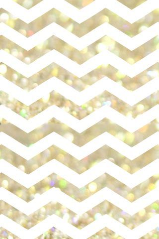 Phone Wallpaper Ideas: chevron background | Dress Your Tech: Gold & White Phone Wallpaper | For Chic Sake