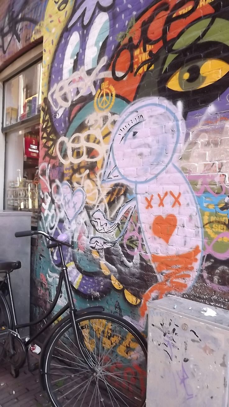 street art - bike - Amsterdam