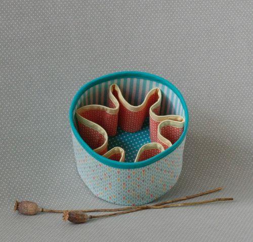 textile box...triangles