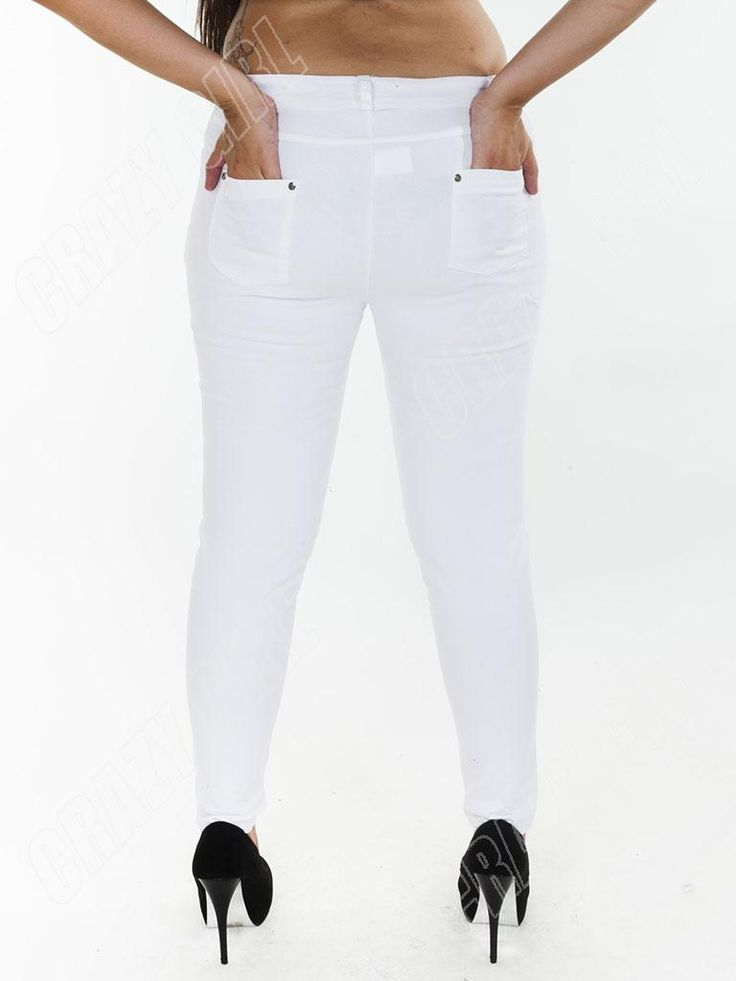Great White High Waisted Jeans