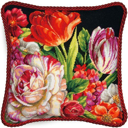 Dimensions Crafts Needlepoint Kit, Bouquet on Black Dimensions Crafts http://www.amazon.com/dp/B00FRH25WC/ref=cm_sw_r_pi_dp_zMnkwb04BMNZ2