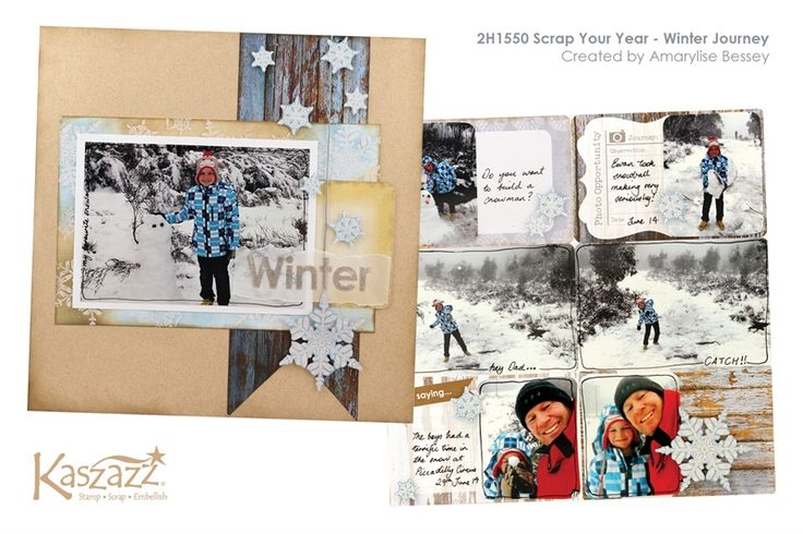 2H1550 Scrap Your Year - Winter Journey