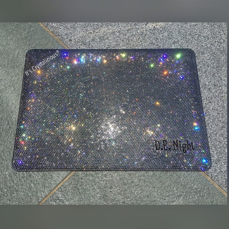 Crystalicious® Mac Book cover - Initials or Name *