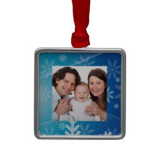 Snowflakes Christmas Tree Ornaments