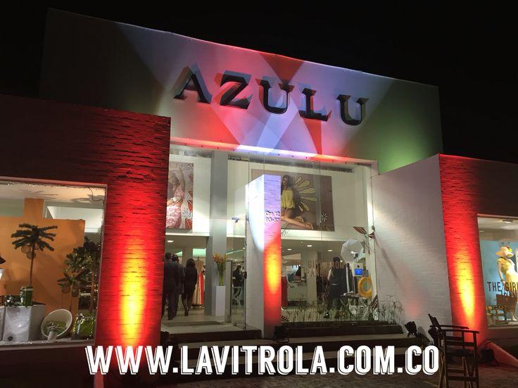 Nuestra producción de sonido e iluminación para el lanzamiento de la nueva colección de AZULU.