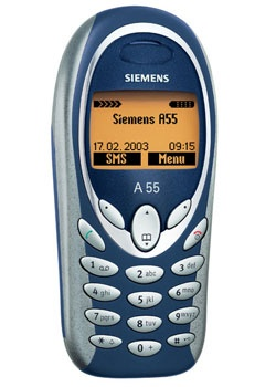 Siemens A55, deze heb ik in Frankrijk in een douchegebouw laten liggen om hem op te laden. Daarna was ie weg... gek he?