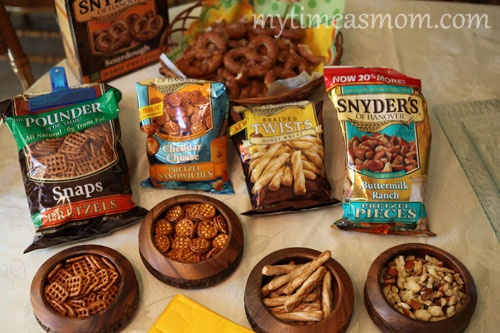 """Create a """"Pretzel Bar"""" for birthday parties and picnics!: Birthday Parties"""