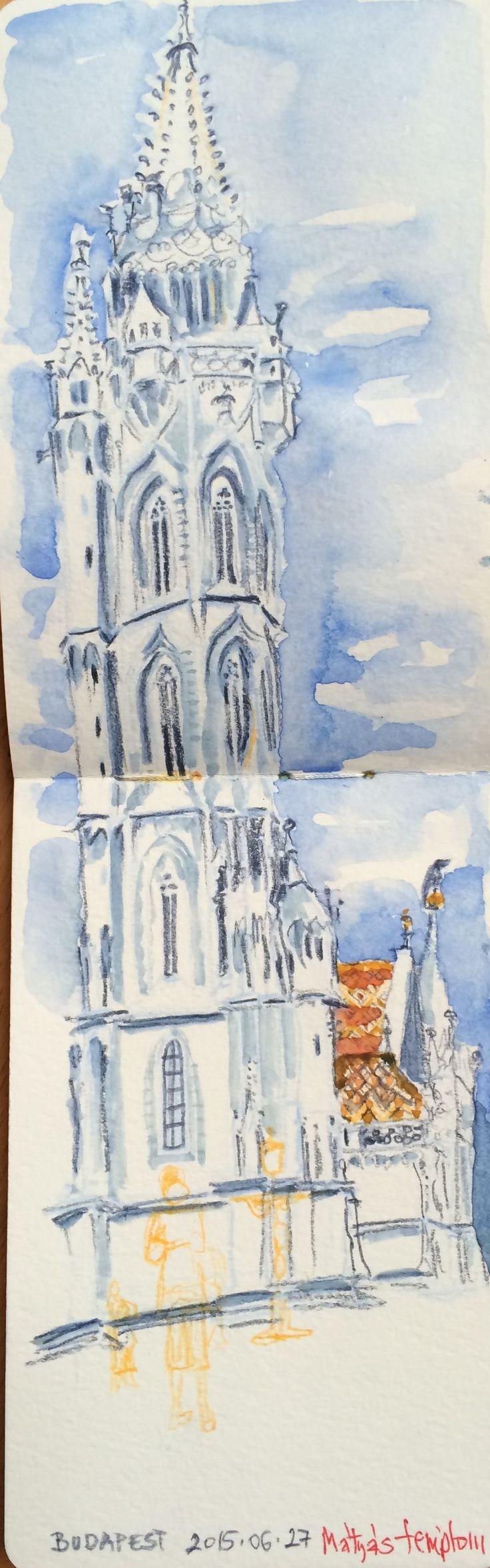 Máthyás templom, #sketches