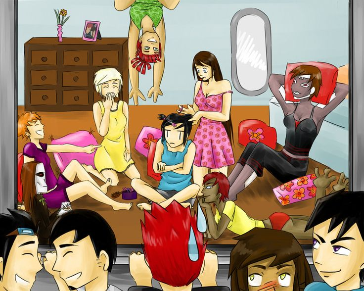 GF Sleepover by Izz2000.deviantart.com on @DeviantArt