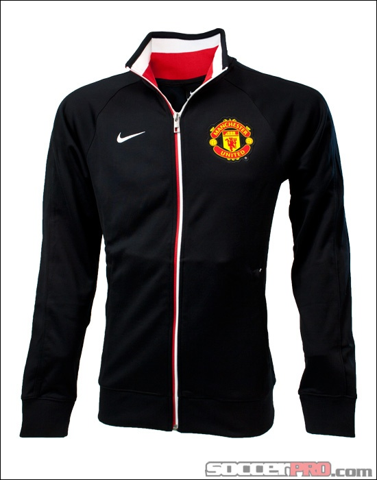 Nike Manchester United Core Trainer Jacket - Black with White...$67.49