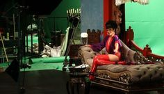 "rihanna princess of china red stockings | Rihanna behind the scenes of Coldplay's new video ""Princess of China ..."
