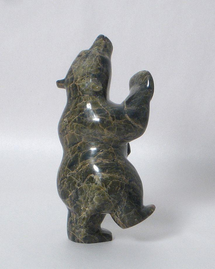 Dancing bear sculpture-6541