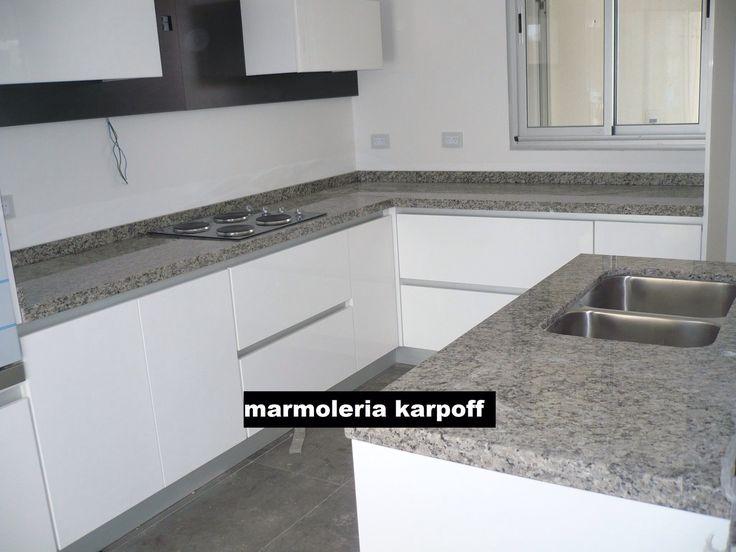 Pin de Marmoleria Karpoff en Granito gris perla | Pinterest ...