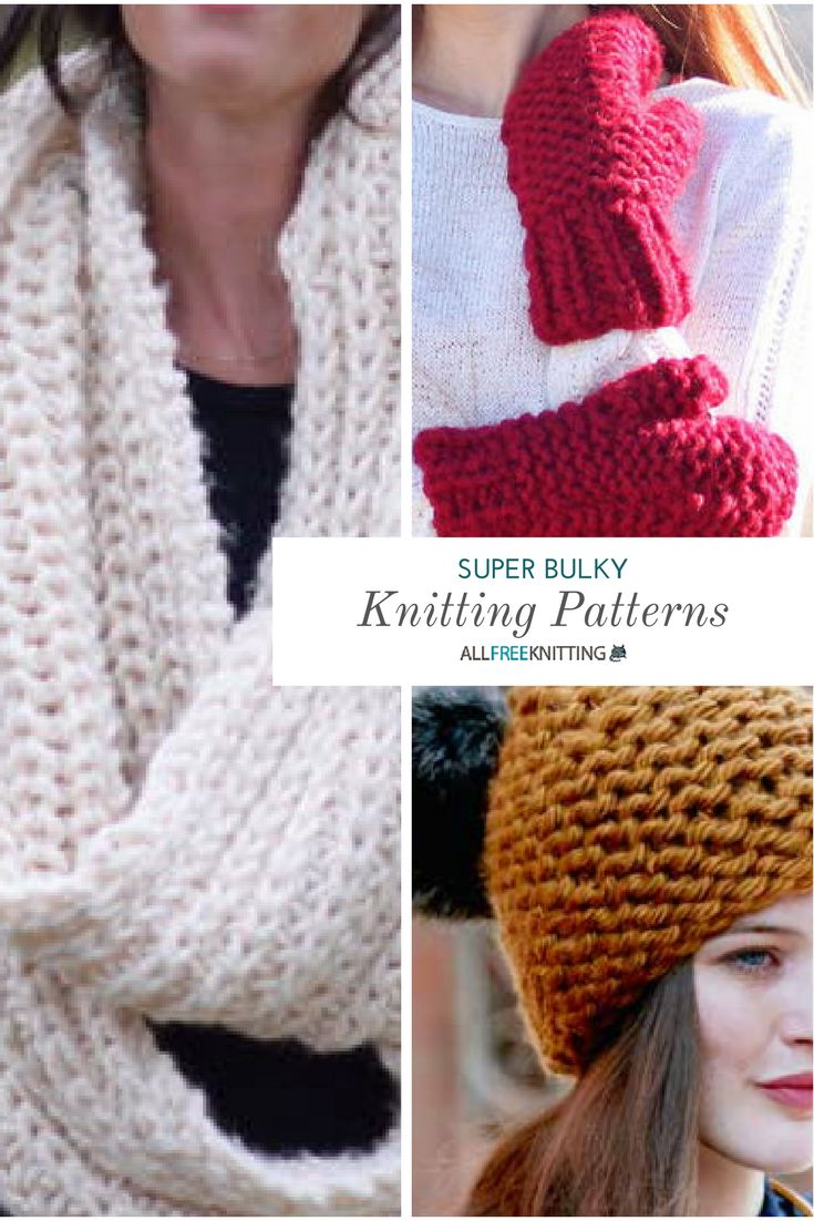 21 best Free Bulky Yarn Knitting Patterns images on Pinterest ...