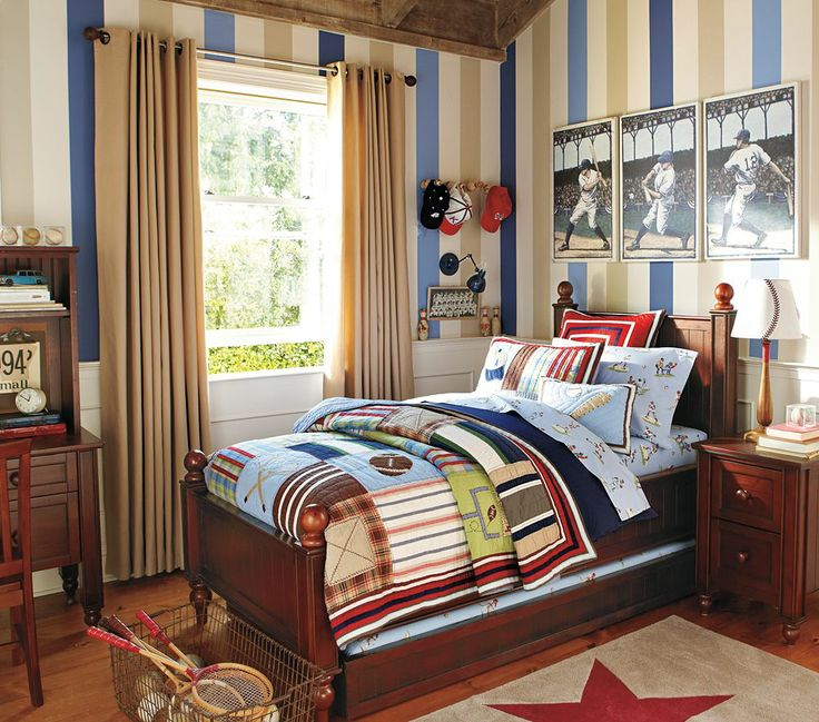 Thomas Bed Pottery Barn Kids Australia Sport bedroom