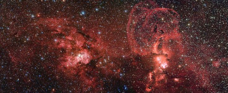 Al sud della via Lattea, là dove le stelle prendono vita