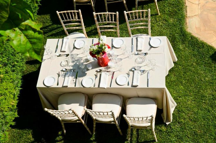 Private house vintage wedding  Keyhole View: Blossoming flowers and hand picked decoration elements.