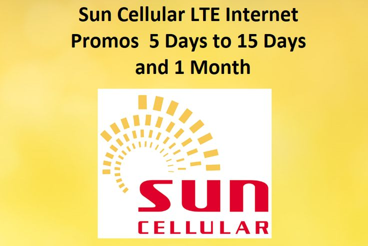 Sun Cellular offers LTE web promo to Sun Prepaid supporters. Appreciate quick web speed with this promo utilizing Sun LTE SIM. With cost running from 50 to 200 Pesos with legitimacy of 5 days to 1 month. This promo best suits endorsers who are on a tight spending plan and in the meantime needing versatile information to do web exercises like perusing video gushing downloading and web based gaming.  Get most extreme speed of up to 50MBPS when you have a decent flag gathering on your 4G LTE…