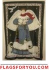 Joyeux Noel Angel House Flag - 9 left