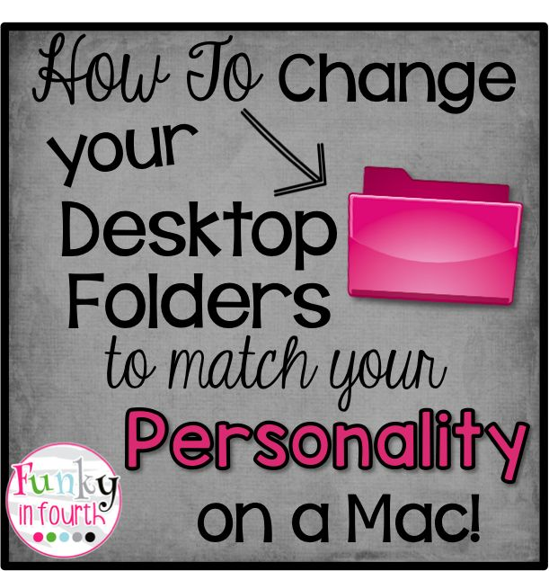 Changing your Desktop Folders How-To Video - Cassie Dahl: Teaching & Technology