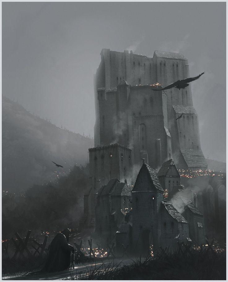 The Dreadfort, Gediminas Skyrius on ArtStation at https://www.artstation.com/artwork/QxgEL