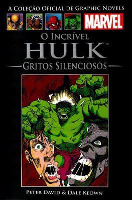 O Incrível Hulk: Gritos Silenciosos – Peter David, Dale Keown | Revistas e Jornais