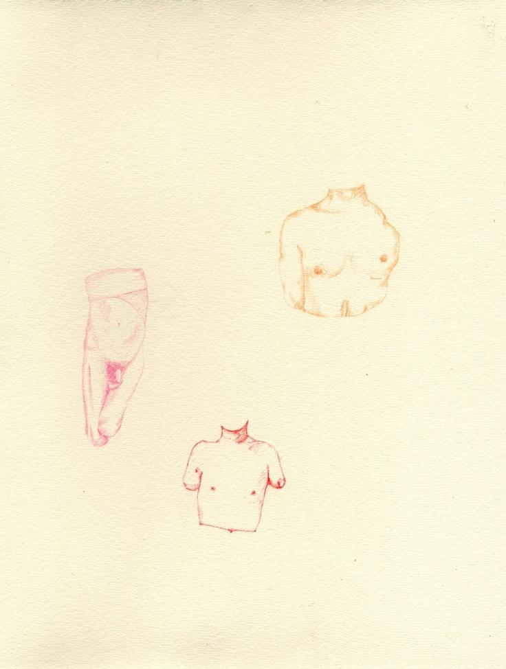 War hero III, Colouring pencil on paper, Eleanor Phillips, 2013