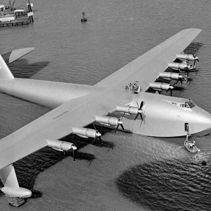 November 2nd, 1947, aviation pioneer Howard Hughes' 200 ...