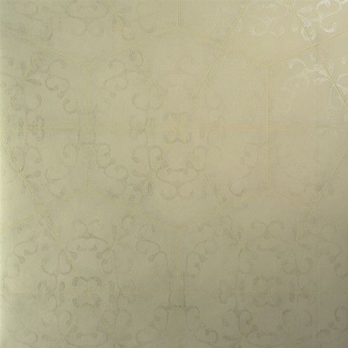 "Found it at Wayfair.ca - Luxury Elegant Octagonal Metallic 27.5"" x 27.5"" Geometric Wallpaper"
