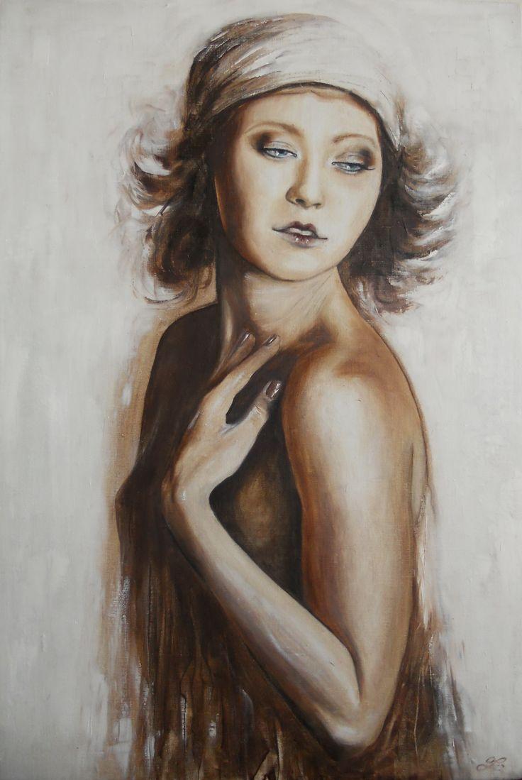 olej na plátně/oil on canvas  76x50cm