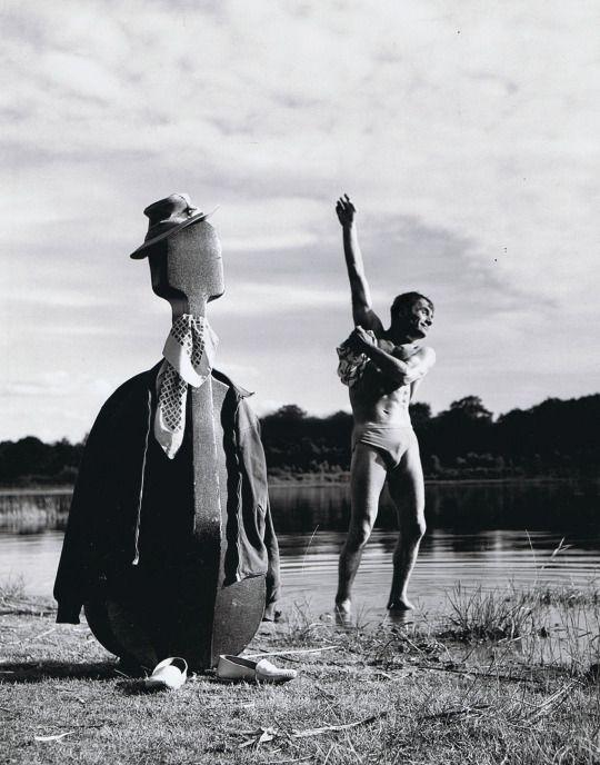 Maurice Baquet 1950s by Robert Doisneau