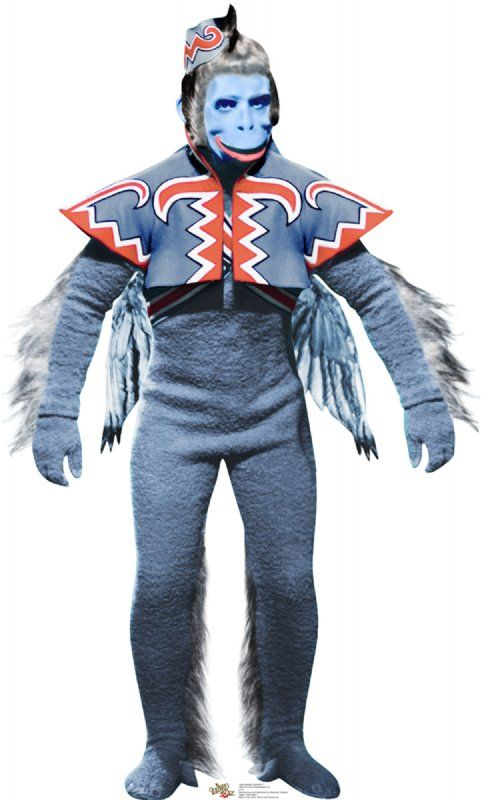 Winged Monkey - The Wizard of Oz Cardboard Cutout Standup Prop    Winged monkey from the movie, The Wizard of Oz.    Size: 63 x 38    Please allow 2-3 weeks for delivery.